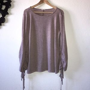 Anthropologie Easel pullover sweater Sz Large